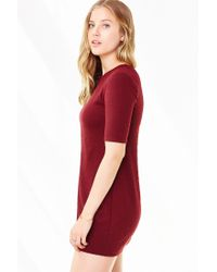 Silence + Noise | Red Perry A-line Tee Dress | Lyst