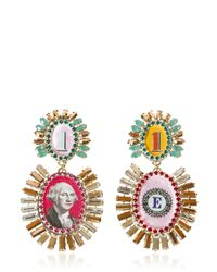 Bijoux De Famille | Multicolor Disco Funky Dollar Earrings | Lyst
