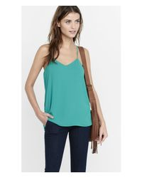 Express - Green Barcelona Cami - Lyst