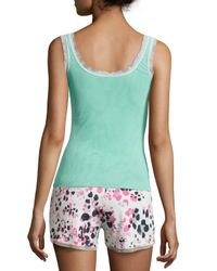 Cosabella - Green Sleeveless Dream Lounge Camisole - Lyst