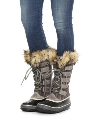 Sorel - Gray Joan Of Arctic Boots - Lyst