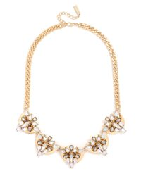 BaubleBar | Metallic Crystal Mesopotamia Collar | Lyst