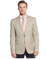 Vince Camuto - Natural Tan Birdseye Sport Coat for Men - Lyst