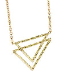 Maria Black - Metallic Tusk 18-Karat Gold Diamond Necklace - Lyst