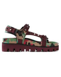 Valentino | Multicolor 'Rockstud' Sandals for Men | Lyst