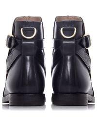 H by Hudson - Black Quartz Ankle Boots - Lyst