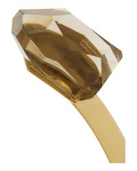 By Malene Birger | Metallic Klein Goldplated Resin Necklace | Lyst
