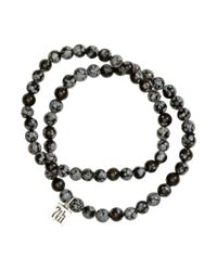 H&M - Black 2-Pack Bracelets for Men - Lyst