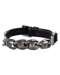Valentino | Black Chain Bracelet for Men | Lyst