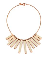 Marc By Marc Jacobs | Metallic Stick Bib Necklace for Men | Lyst