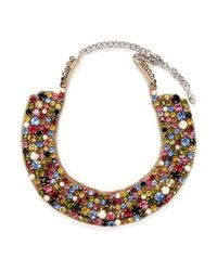 Valentino | Multicolor 'watercolour' Resin Jewel Collar Necklace | Lyst