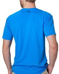 Helly Hansen   Blue Hp Quick-dry T-shirt for Men   Lyst