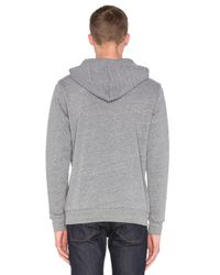 Altru - Gray Mountains And Sun Hoodie for Men - Lyst