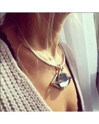 Jenny Bird - Metallic Nova Orb Collar - Lyst