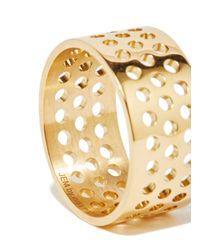 Jem - Metallic Jem Women's Voids L Ring From Aw15 In Yellow Gold - Lyst