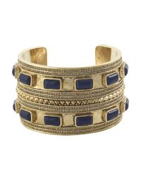 House of Harlow 1960 - Metallic Ananta Statement Cuff - Lyst