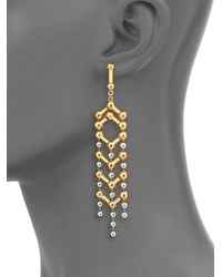 Giles & Brother | Metallic Apache Drop Earrings | Lyst