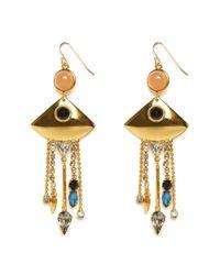 Lizzie Fortunato | Metallic Mexico Fringe Earrings | Lyst