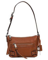Michael Kors | Brown Michael Abby Small Shoulder | Lyst
