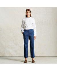 Trademark | Blue Denim Trouser | Lyst