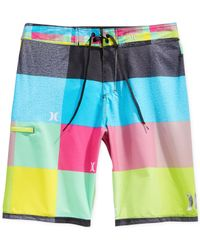 Hurley | Multicolor Phantom Heathered Kingsroad Board Shorts for Men | Lyst