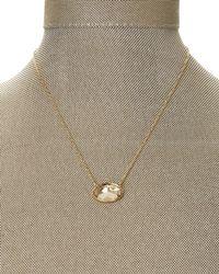 Swarovski   Metallic Gold-Tone Statement Crystal Necklace   Lyst