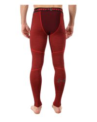 Under Armour | Red Ua Coldgear® Armour® Twist Compression Legging for Men | Lyst