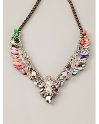 Shourouk | Metallic 'tabatha' Necklace | Lyst