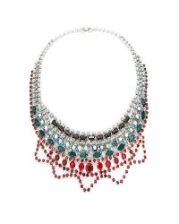 Tom Binns - Multicolor Editorialist Exclusive: Emerald And Ruby Scallop Necklace - Lyst