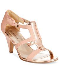 Bandolino - Pink Dacia Sandals - Lyst