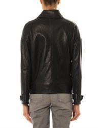 J Brand - Black Durham Leather Jacket - Lyst