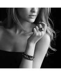 David Yurman - Metallic Midnight Mélange Bracelet with Diamonds - Lyst
