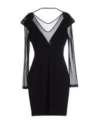 Annarita N. - Black Short Dress - Lyst