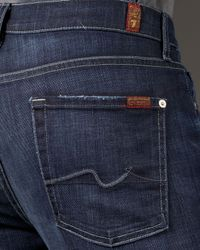 7 For All Mankind | Blue Austyn Los Angeles Stretch Jeans for Men | Lyst