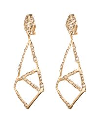 Alexis Bittar | Metallic Crystal Mosaic Clip Earring You Might Also Like | Lyst