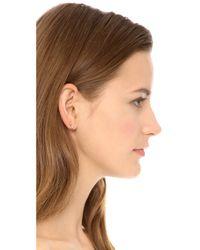 Gabriela Artigas - Metallic Triple Shooting Star Earrings - Gold - Lyst
