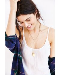 Silence + Noise - Natural Kate Rumpled Cami - Lyst