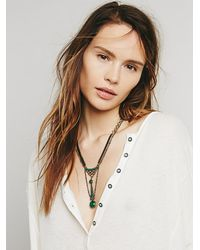 Free People - Multicolor Dreamer Stone Pendant - Lyst