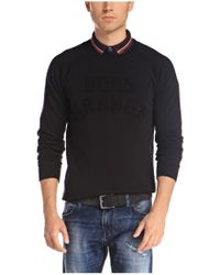 BOSS Orange - Black Sweatshirt 'wilkons' In Cotton for Men - Lyst