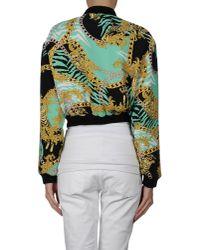 Versace Jeans - Green Jacket for Men - Lyst