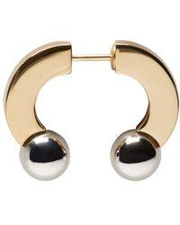 Chloé | Metallic Gold & Silver Darcey Earring | Lyst