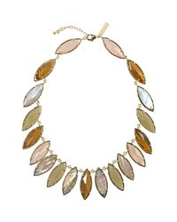 Kendra Scott - Metallic Bali Nalin Mixed-stone Necklace - Lyst