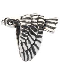 Trollbeads | Metallic Falcon Sterling Silver Charm | Lyst