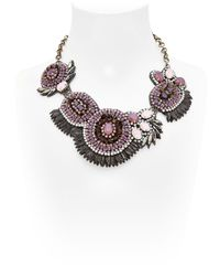Deepa Gurnani | Metallic Mergers And Acquisitions Necklace | Lyst