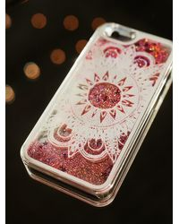 Free People - Pink Womens Cosmic Storm Iphone Case - Lyst