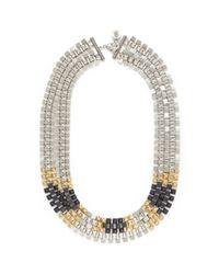Ela Stone | Multicolor Freja Pyramid Chain Necklace | Lyst