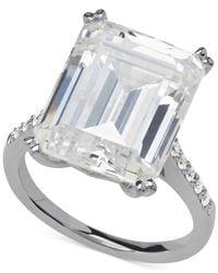 Arabella | Metallic Swarovski Zirconia Statement Ring In Sterling Silver (22-7/8 Ct. T.w.) | Lyst
