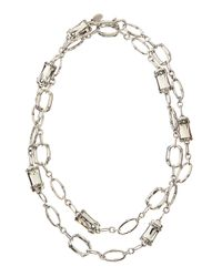 John Hardy | Metallic Silver Sautoir Long Necklace | Lyst