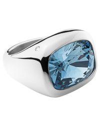 Dyrberg/Kern | Blue Dyrberg/kern Swarovski Elements Cocktail Ring | Lyst