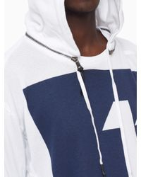 Boris Bidjan Saberi 11 - White Hooded Sweatshirt for Men - Lyst